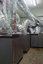 Kaskáda vzduch-voda 3x 18 kW